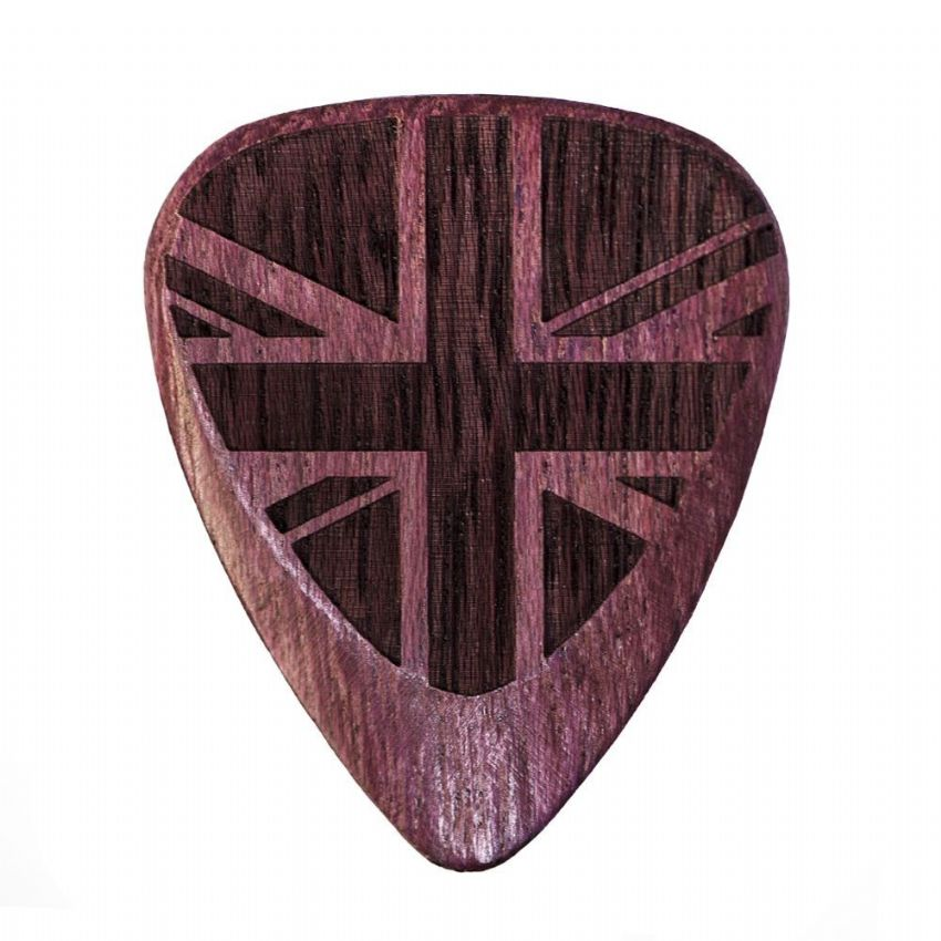 Flag Tones - Union Jack Purple - 1 Pick | Timber Tones